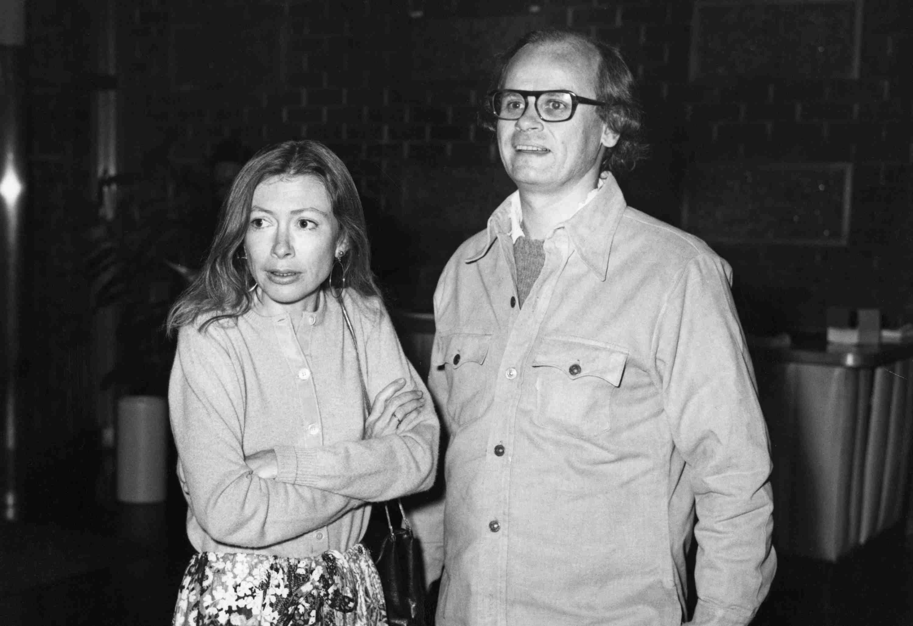 photograph of Joan Didion and John Gregory Dunne