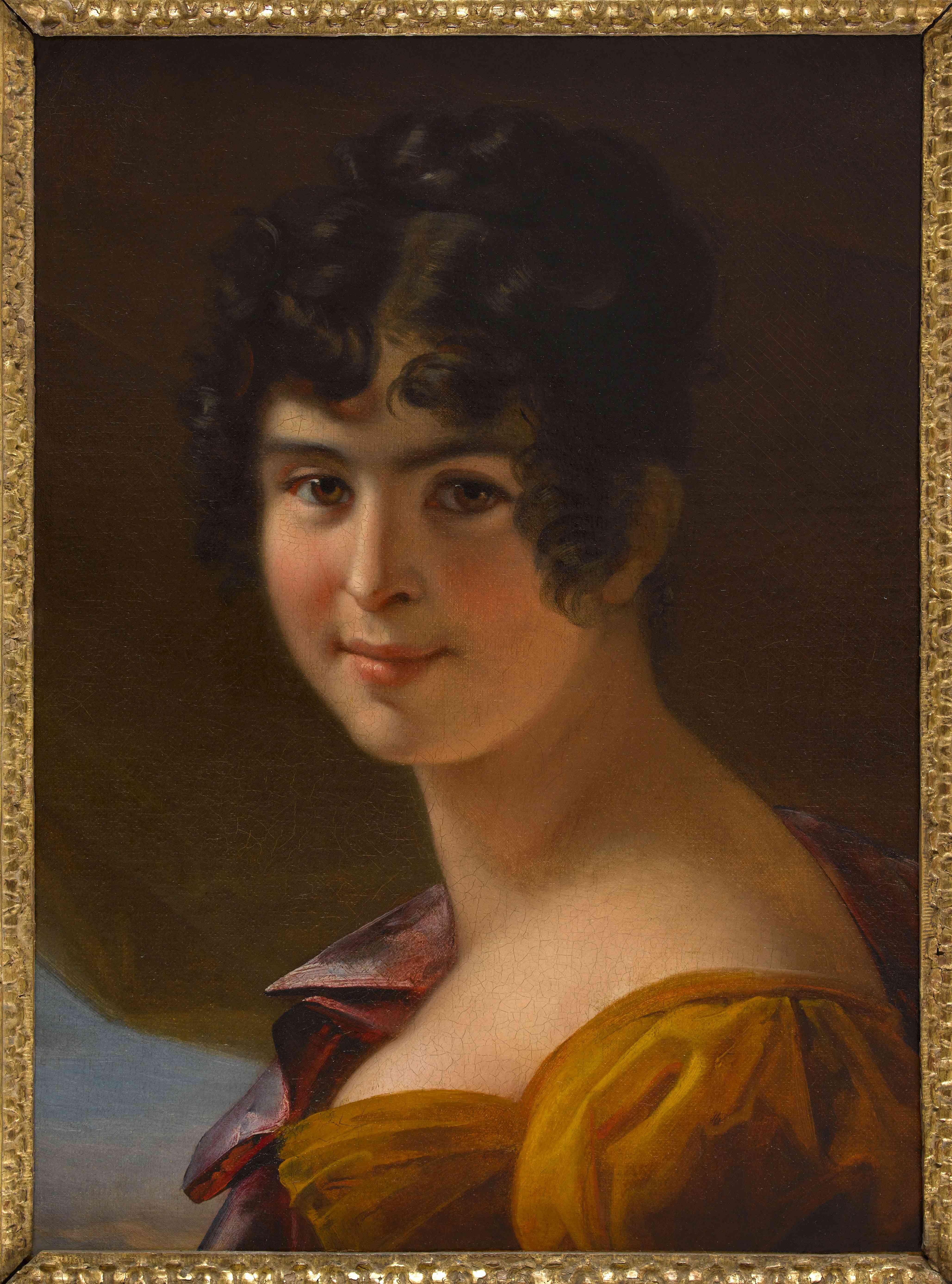 Portrait of Adèle Foucher