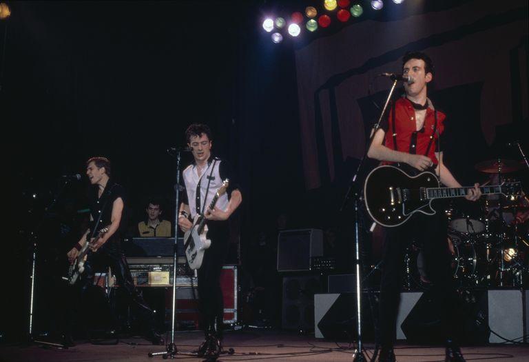 The Clash performs live circa 1980.