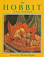 Cover of The Hobbit edition illustrated by Michael Hague