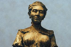 Sculpture of Sophie Germain