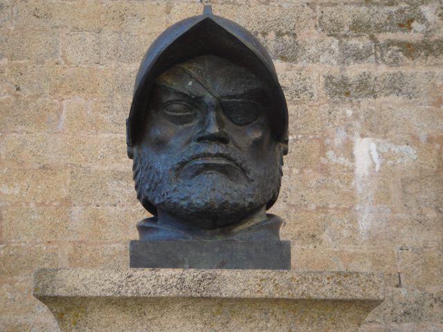 Francisco de Orellana bust