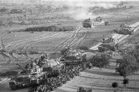 Israeli tanks in the Six-Day War