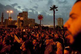 Demonstration in Cairo, 2011