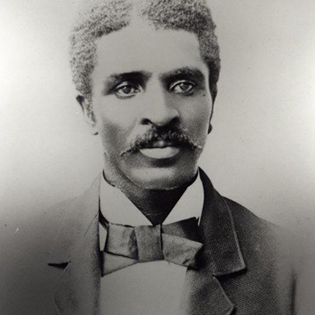 George Washington Carver as a student of Iowa State College circa 1893