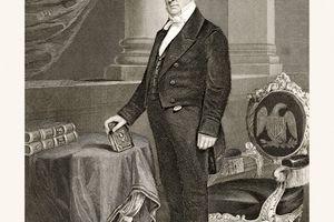 James Buchanan, 19 Century Portrait