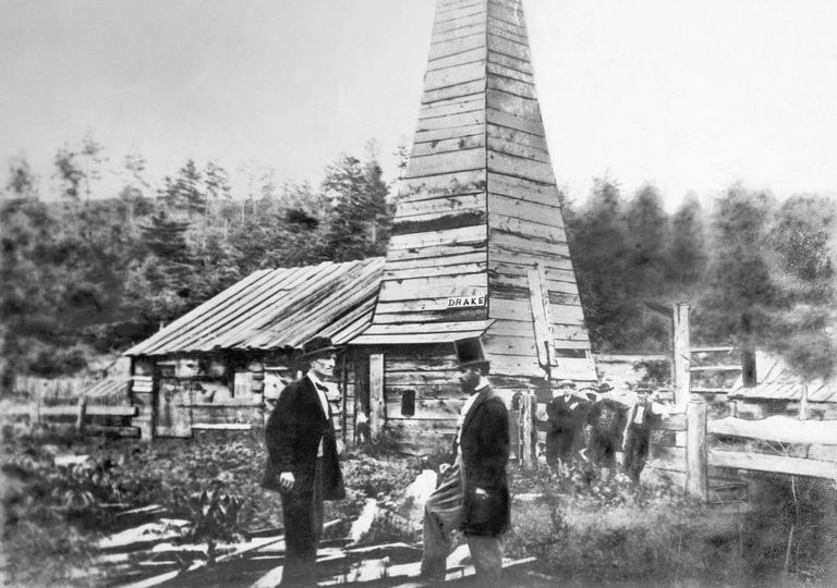 Edwin Drake's first oil well