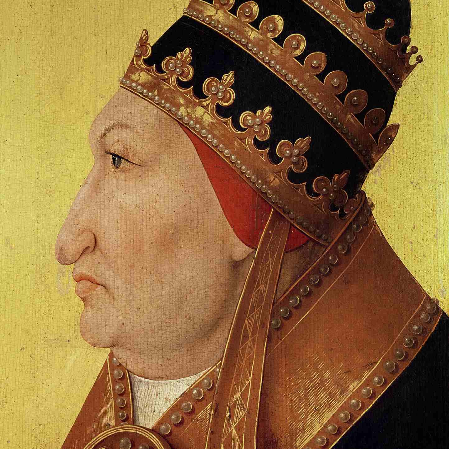 Painting of Portrait of Rodrigo Borgia (1431-1503) Pope Alexander VI