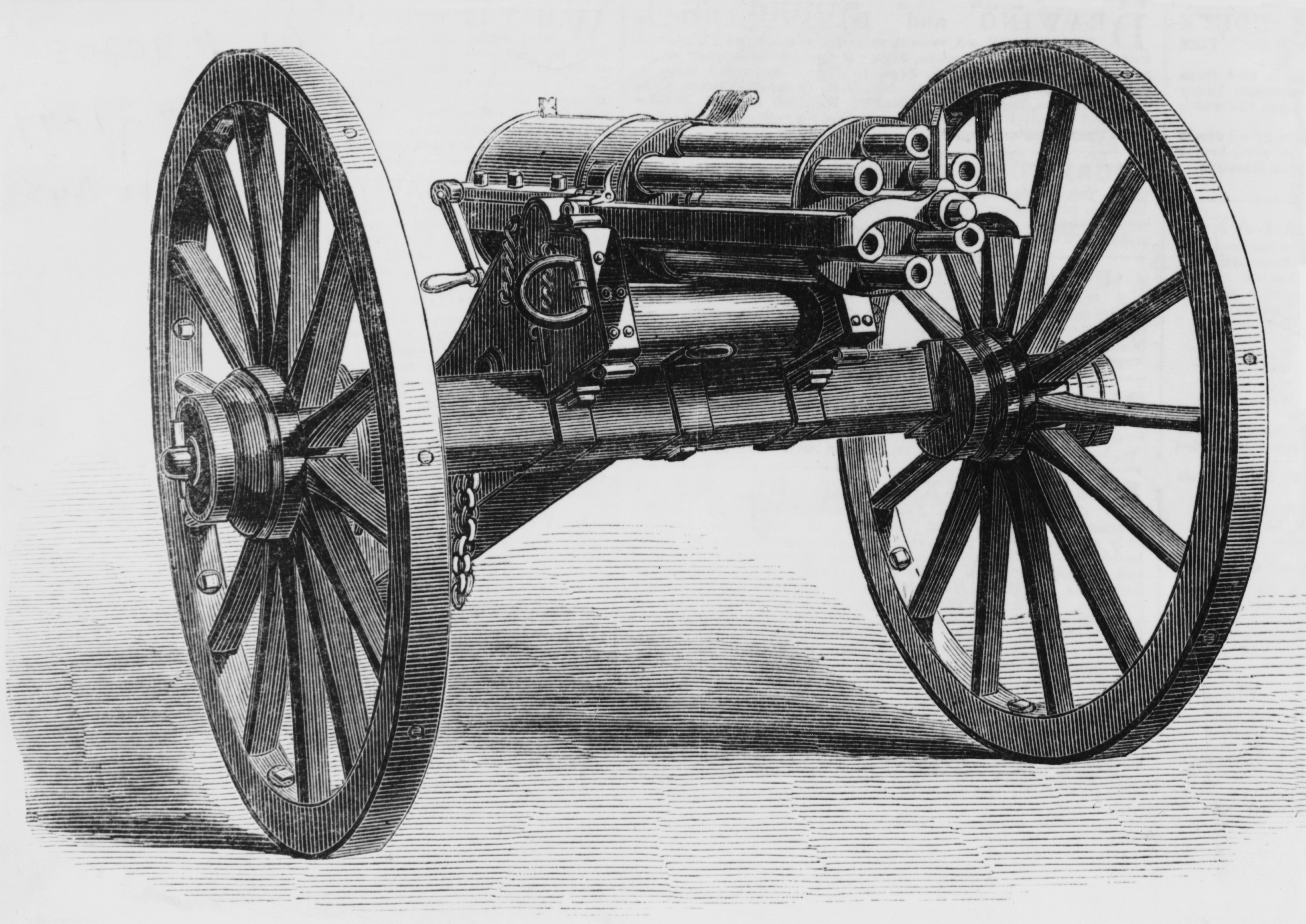 why the gatling gun is an invention of great importance to the science of warfare The gatling gun was patented by 1862 and it came at a time when firearms were beginning to transition from muzzle-loading rifles to cartridge rifles this provided a great advantage in the rate of fire against opposing forces in the 1860s, most of the union and confederate armies still operated.