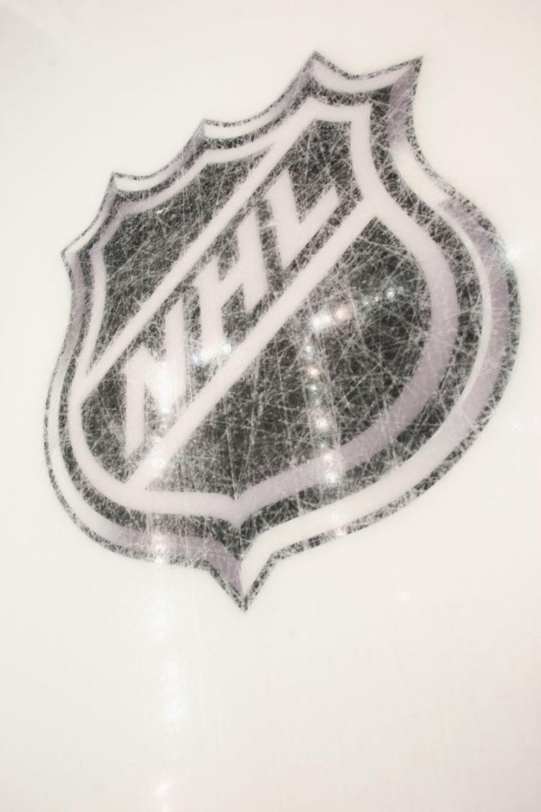 PITTSBURGH - OCTOBER 07: New logos are etched into the ice prior to the game between the Pittsburgh Penguins and the Philadelphia Flyers at the Consol Energy Center on October 7, 2010 in Pittsburgh, Pennsylvania.