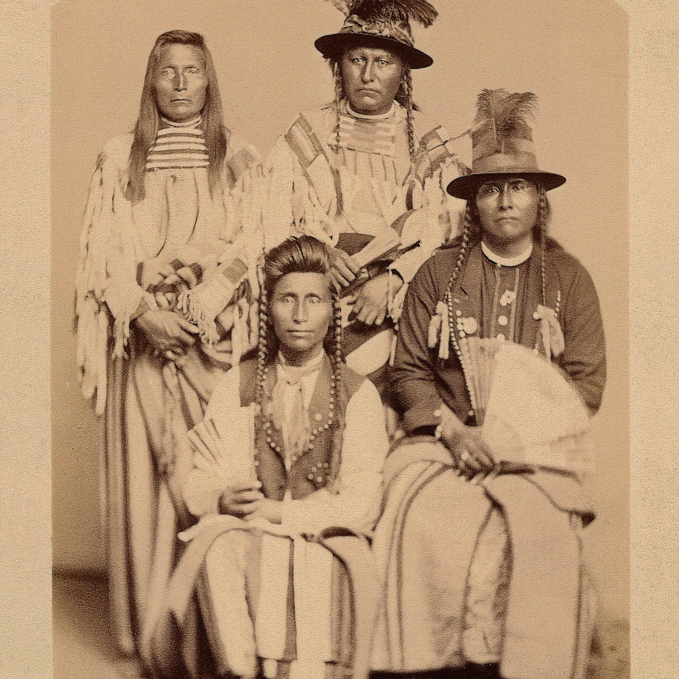 Chief Joseph and the Nez Perce Chiefs