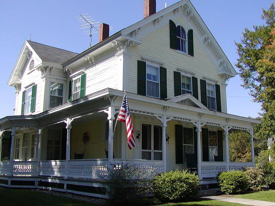 Folk victorienne Maison dans le New Hampshire