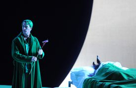 English National Opera's Production Of Benjamin Britten's A Midsummer Night's Dream At The London Coliseum