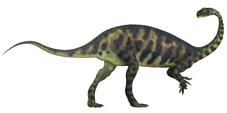マッソスポンディルス恐竜のデジタルイラスト