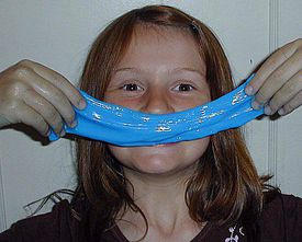 Slime can be edible, so it's safe to play with and also eat.