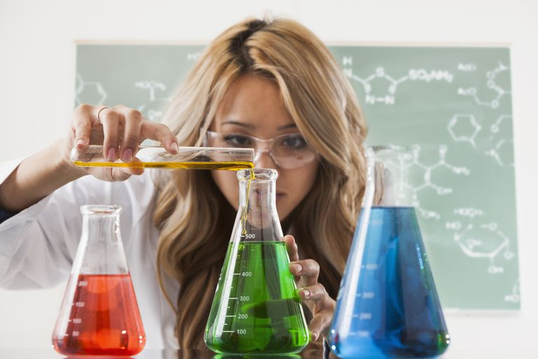 Chemistry majors look (and smell) different from other students.