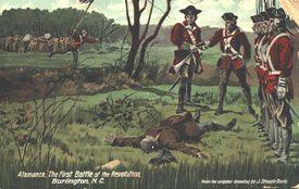 Battle of Alamance Postcard