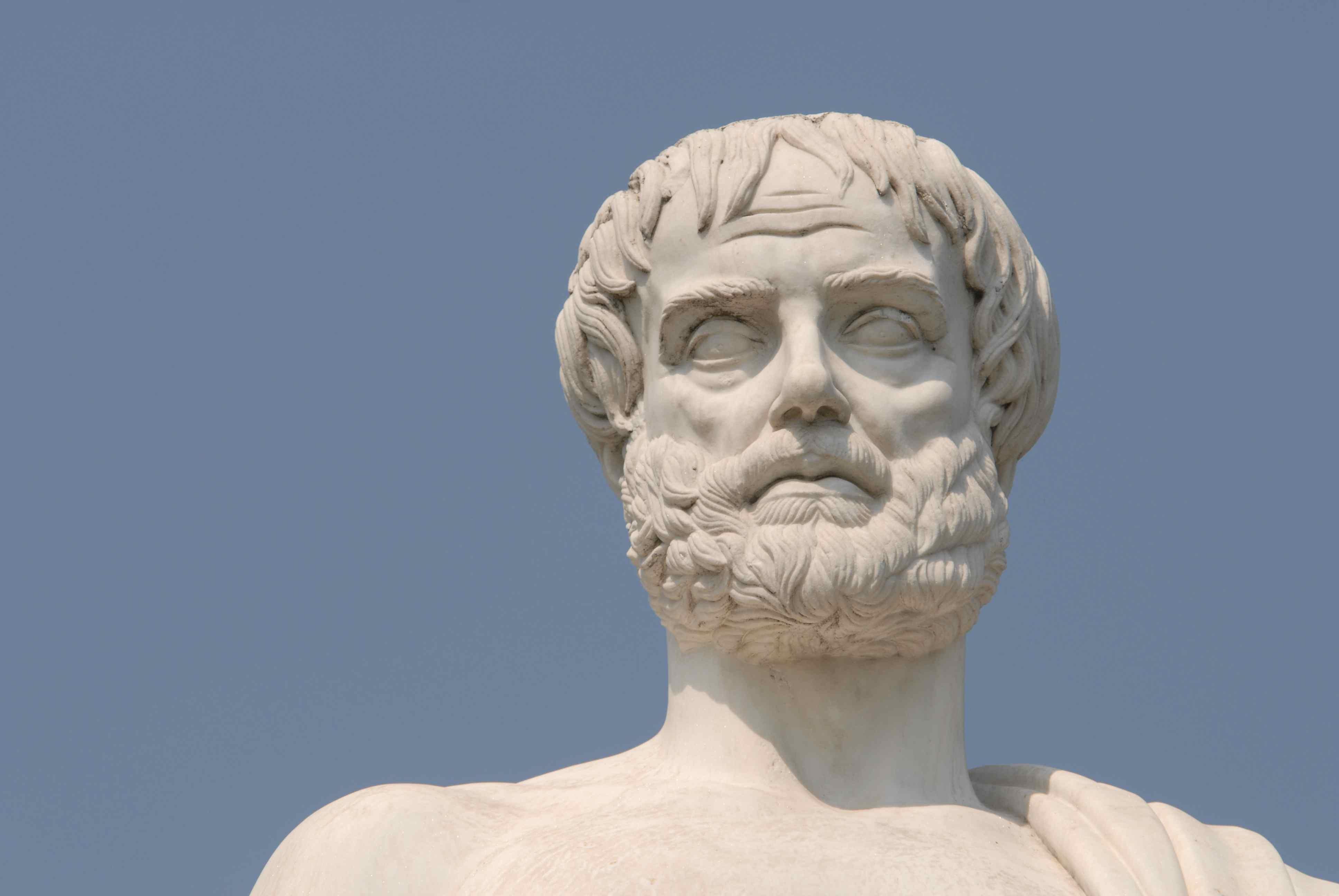 Αριστοτέλης, απεικόνιση, ο φιλόσοφος