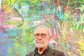 'Gerhard Richter. Abstraktion' Press Conference & Exhibition Preview In Potsdam