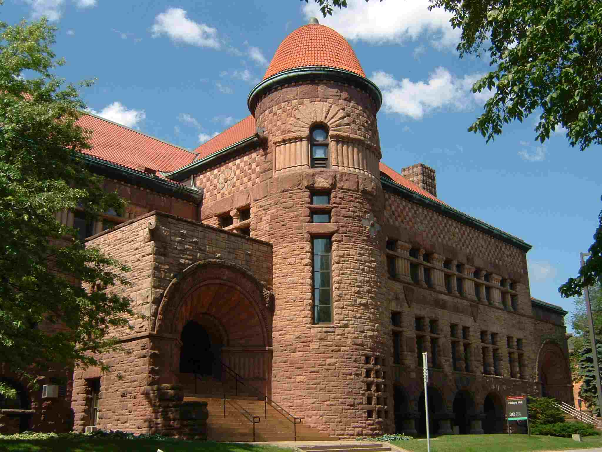 Pillsbury Hall at the University of Minnesota