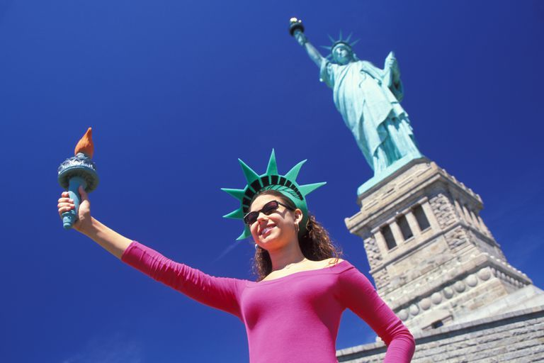 Statue of Liberty Girl