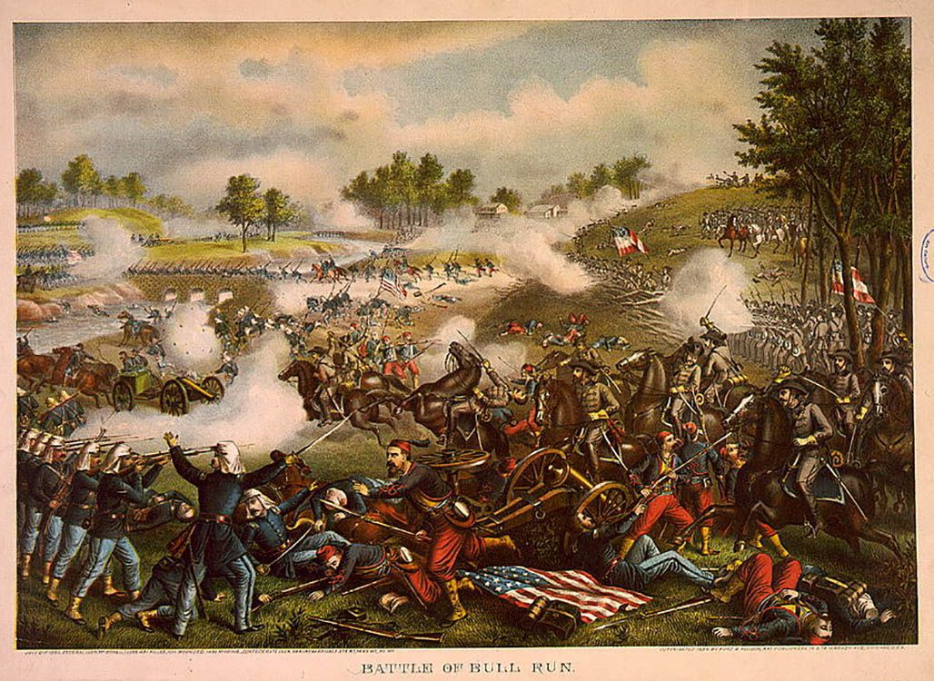 Image result for first battle of bull run