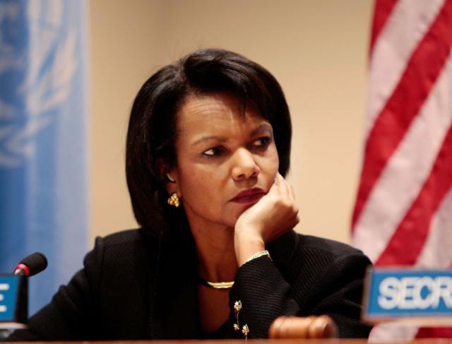 Condoleezza Rice at United Nations December 2008