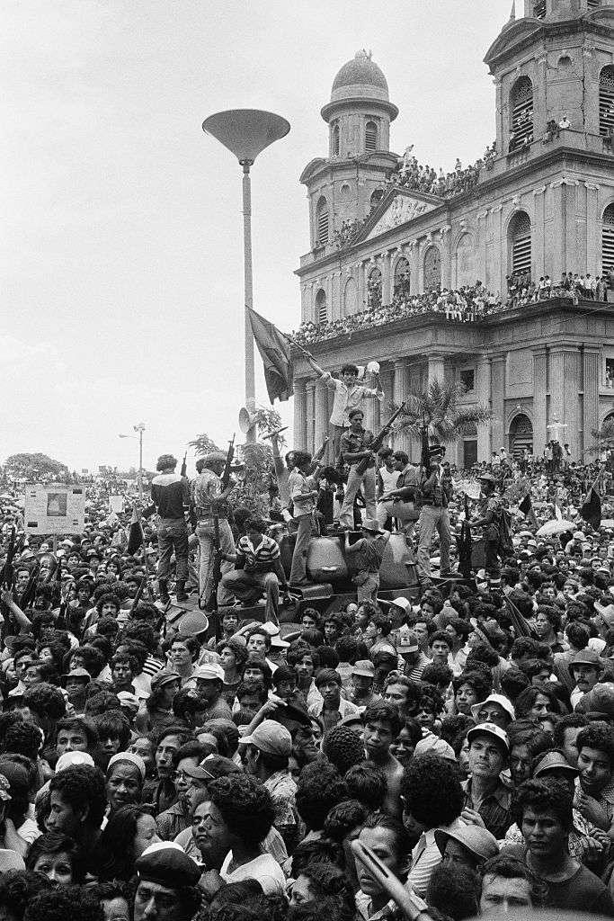 Sandinistas triumphant in Managua