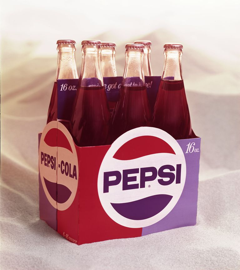 A six-pack of Pepsi, 1960s