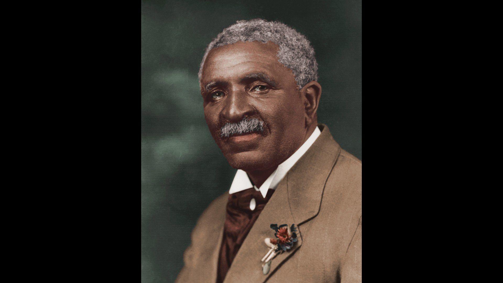 السيرة الذاتية لجورج واشنطن كارفر اكتشف 300 يستخدم لالفول السوداني