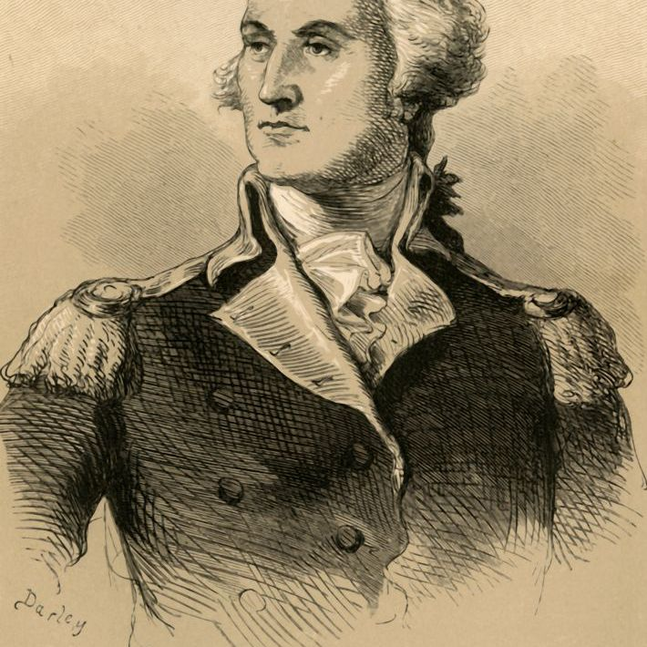 Portrait of George Washington, General of the Continental Army