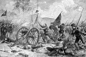 Pickett's charge at Gettysburg