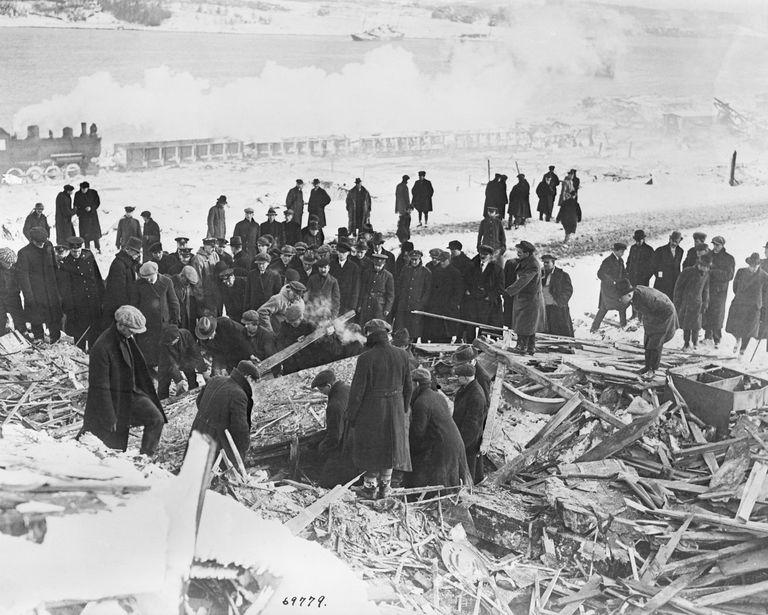 halifax explosion of 1917 world war i history