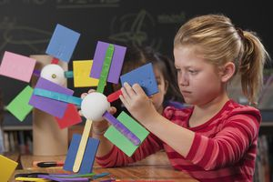 Grade school science fair projects can be demonstrations, experiments, or inventions.