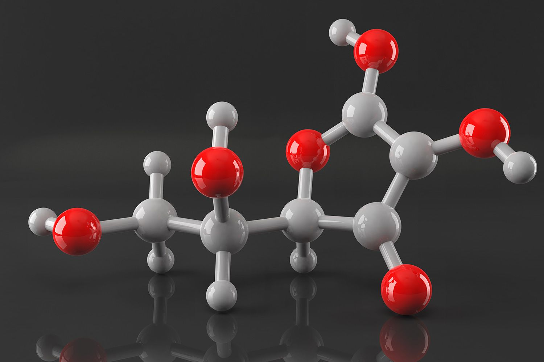 Molecular Structure of Vitamin C