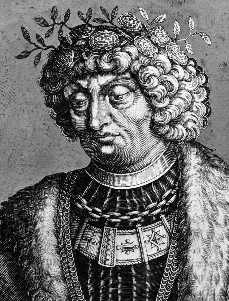 Portrait of Otto the Great