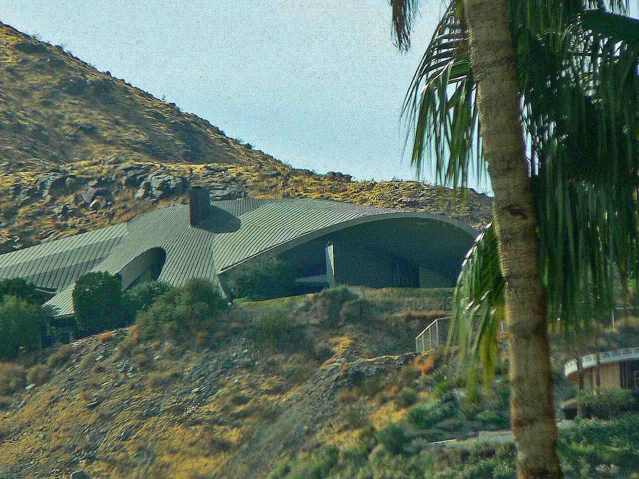 Το σπίτι του Bob Hope στο Παλμ Σπρινγκς της Καλιφόρνια