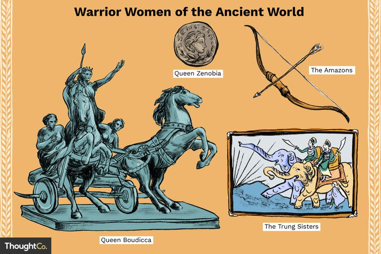 Warrior Women of the Ancient World
