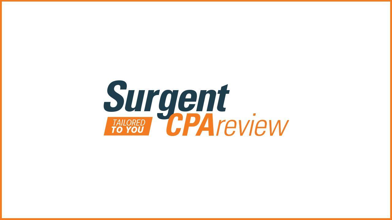 Revisión de CPA Surgent