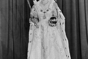 Queen Elizabeth II After Her Coronation