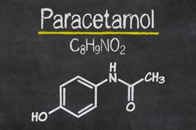 Paracetamol formula and structure