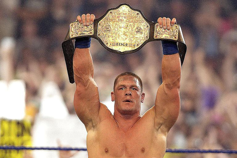 John Cena at WrestleMania 25 in 2009