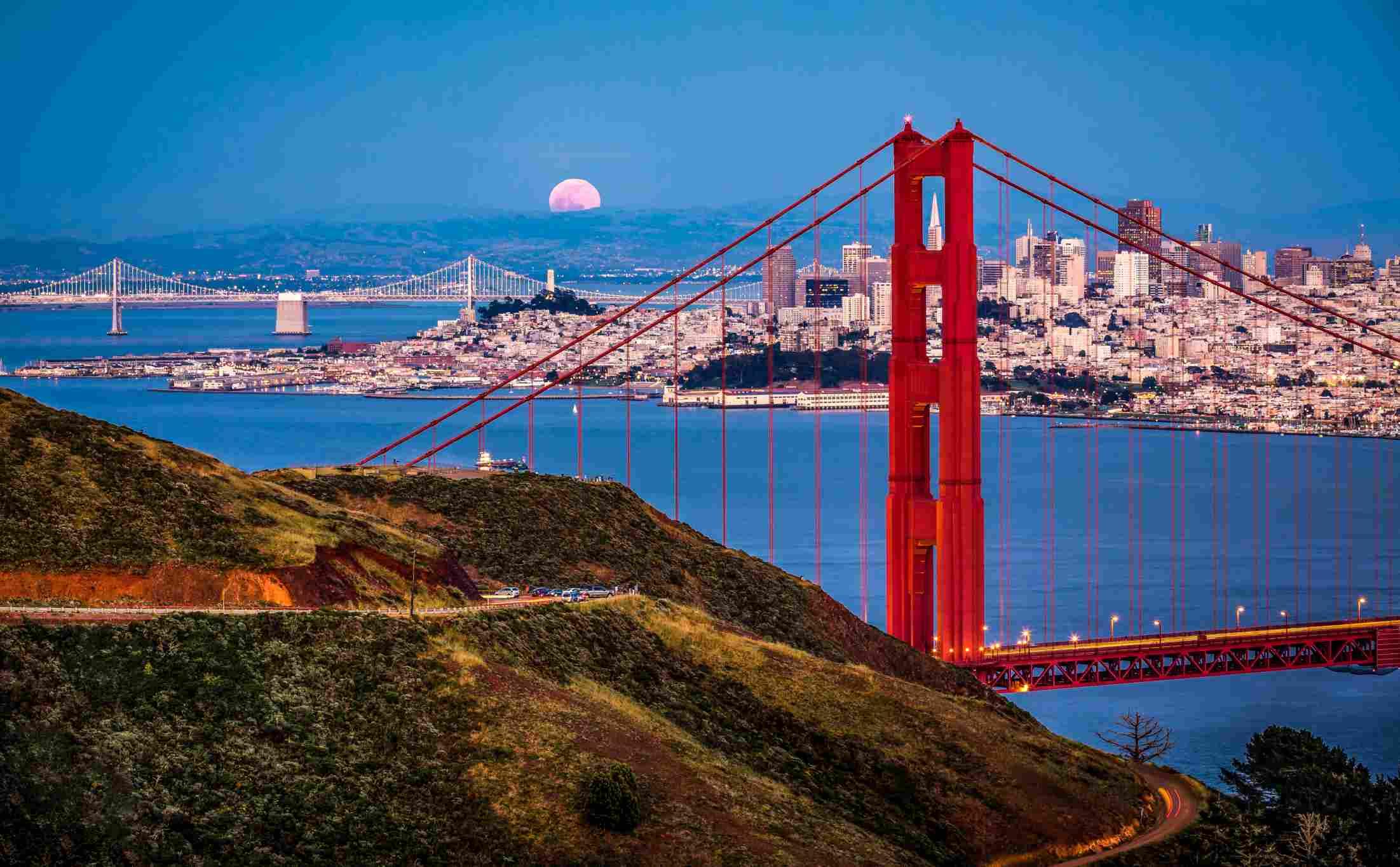 Puente de Golden Gate en San Francisco.