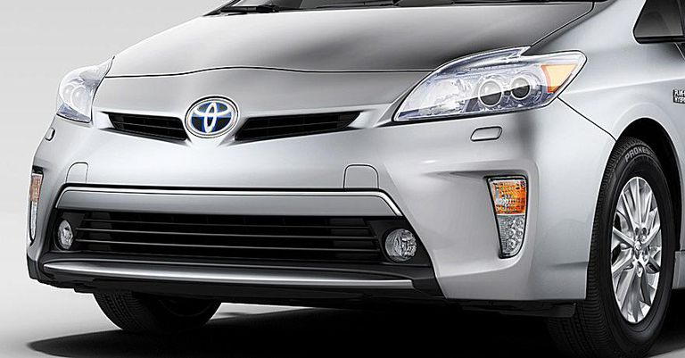 2012 Toyota Prius PLug-in Front View