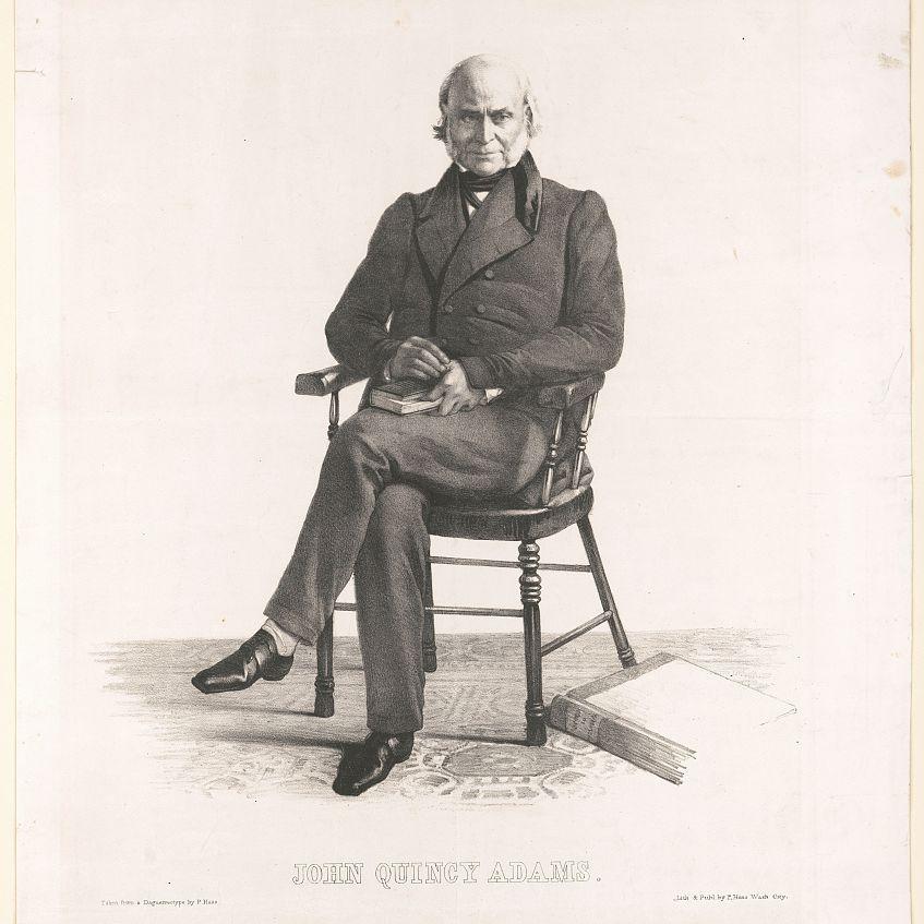 Illustration of John Quincy Adams