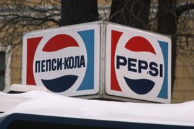 Pepsi Sign in Moscow