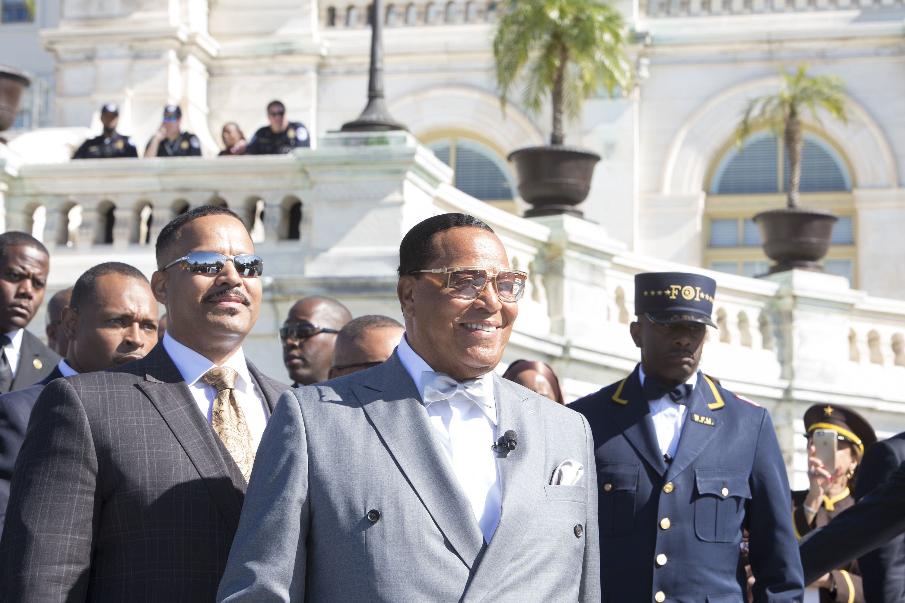 the life and leadership of the religious leader louis farrakhan Louis farrakhan (born louis eugene walcott may 11, 1933) is the national leadership in 1977, after wrestling with the changes and consequent dismantling of the noi structure by farrakhan, along with new black panther party leader malik zulu shabazz, al sharpton, addis daniel and other.