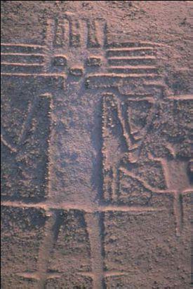 The Atacama Giant: Geoglyph of Cerro Unita, Pozo Almonte, Chile.