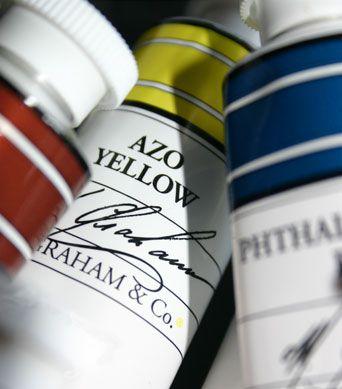 Acrylic Paints: M. Graham & Co.;