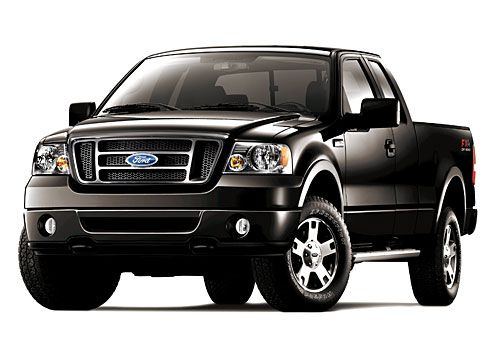 2007 F 150 Truck Front And Side